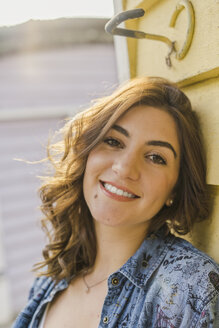 Portrait of smiling young woman - AFVF00031
