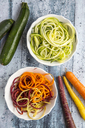 Zoodles, zucchini spaghetti and carrot noodles - SARF03580