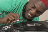 DJ using turntable - FSIF01455