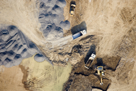 Aerial view of a construction site - FSIF02536