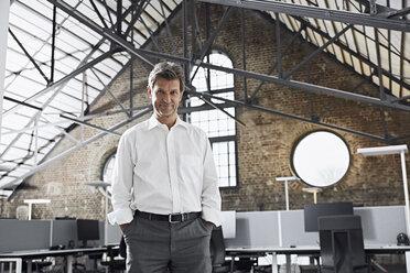 Portrait of mature businessman in modern office - PDF01526