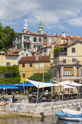 Croatia, Istria, Adria, Kvarner Gulf, Volosko, harbour - WWF04187