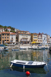 Croatia, Istria, Adria, Kvarner Gulf, Moscenicka Draga, Harbour - WWF04190