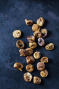 Dried figs on dark ground - CSF28935