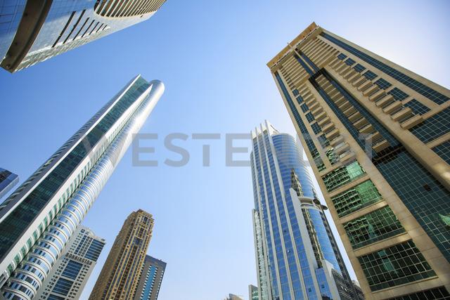 United Arab Emirates, Dubai, office towers - ZE15009