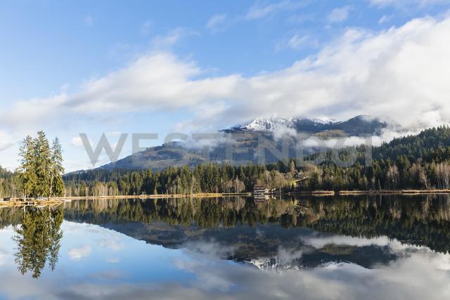 Austria, Tyrol, Kitzbuehel, Kitzbuehel Alps, Schwarzsee - FOF09846