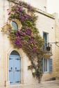 Malta, Mdina, Facade withh tendrils - FCF01344