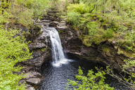 United Kingdom, Scotland, Highlands, waterfall - WDF04448