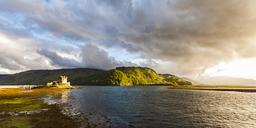 United Kingdom, Scotland, Loch Duich, Eilean Donan Castle - WDF04454