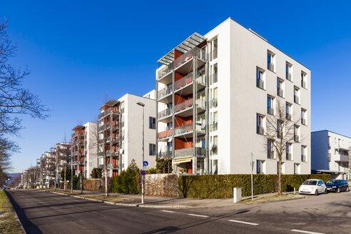 Germany, Baden-Wuerttemberg, Stuttgart, passive houses - WDF04470