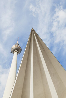 Germany, Berlin, television tower - GWF05460