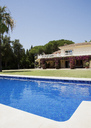 Luxury lap pool and Spanish villa - CAIF00343