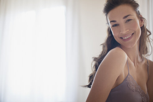 Portrait of smiling woman - CAIF00536