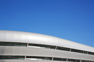 Roof of modern building and blue sky - CAIF01040