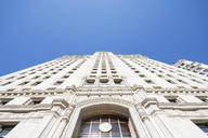 USA, Illinois, Chicago, Facade of Wrigley Building - FOF09965