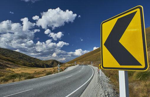 New Zealand, South Island, Crown Range, Crown Range Road - MRF01755