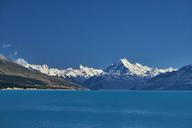 New Zealand, South Island, Lake Pukaki, Mount Cook - MRF01791