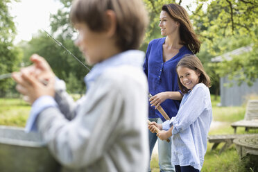 Family fishing together - CAIF01453