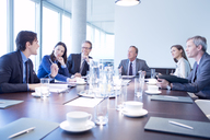 Business people talking in meeting - CAIF01651
