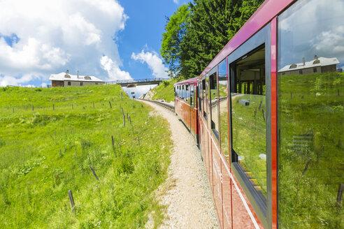 Austria, Salzkammergut, Schafberg, Schafbergbahn, cog railway - AIF00450