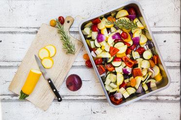 Mediterranean oven vegetables - LVF06761