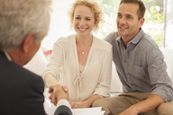 Businessman meeting clients - CAIF04558