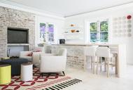 Home showcase open floor plan - HOXF00778