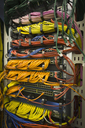 Multicolor server room cables - HOXF00853
