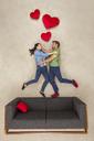 Happy couple falling in love - BAEF01577