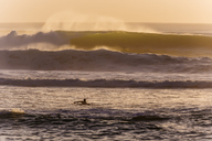 Indonesia, Bali, Indian Ocean, surfer - KNTF01051