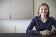 Portrait smiling businesswoman - HOXF03264