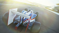 Formula one race car on sports track - CAIF06403
