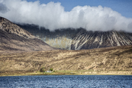 Clouds over mountains, Scotland - CAIF07532