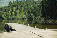 Dock leading to lake - CAIF08062