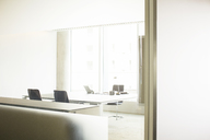 Mirrors in empty office - CAIF08077