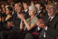 Clapping theater audience - CAIF08110
