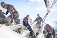 Retired friends sailing - CAIF10153