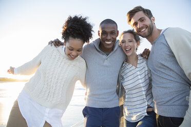 Portrait of four friends having fun - CAIF12150
