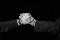 Shaking hands, close-up - FMKF04967