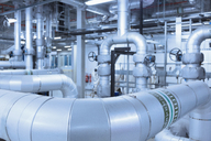 Network of pipes in factory - CAIF12951
