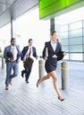 Business people running - CAIF14223
