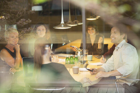 Business people talking in office meeting - CAIF14859