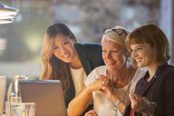 Businesswomen talking in office meeting - CAIF14892