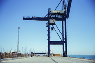 Cargo crane at waterfront - CAIF15087