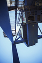 Low angle view of cargo crane - CAIF15096