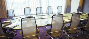 View of empty conference room - CAIF15259