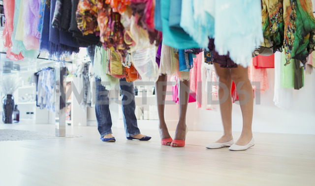 Women shopping together in clothing store - CAIF15556 - Dan Dalton/Westend61