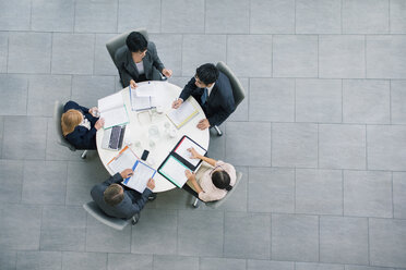 Business people having meeting at table - CAIF15745