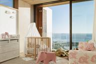 Luxury girl's bedroom with ocean view - CAIF17121
