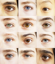 Extreme close up of digital composite of eyes - CAIF17706